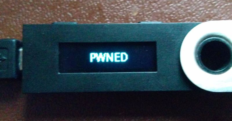 ledger pwnd