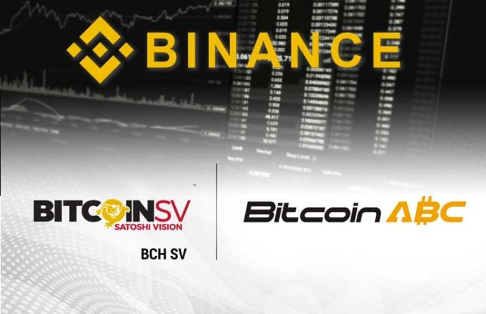 Binance Completes Distribution Of Bitcoin Cash Abc And Bitcoin Cash -