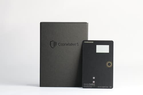 CoolWallet S: The credit card-sized hardware wallet for your cryptocurrency