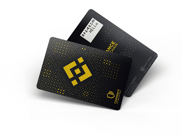 The special-edition Binance Chain x CoolWallet S